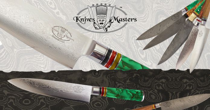 Exclusive Damascus Kitchen Knives Build to Last a Lifetime debut on Indiegogo
