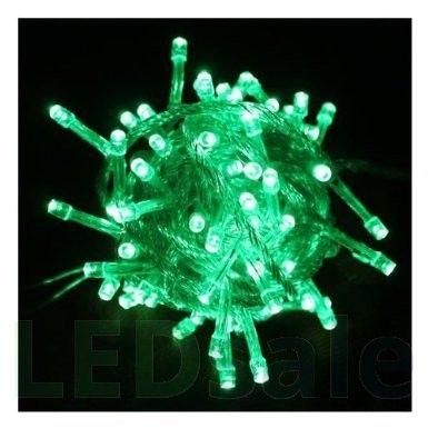 10 Meter LED Jouluvalot - Vihreä