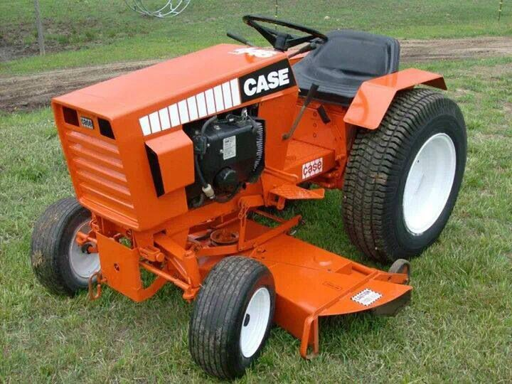 Vintage Lawn And Garden Tractors : Best images about ingersoll case garden tractors on