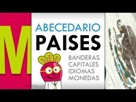 M Abecedario de Paises Banderas Capitales | Mapas Niños y Niñas Educacion | Geography Countries List - YouTube