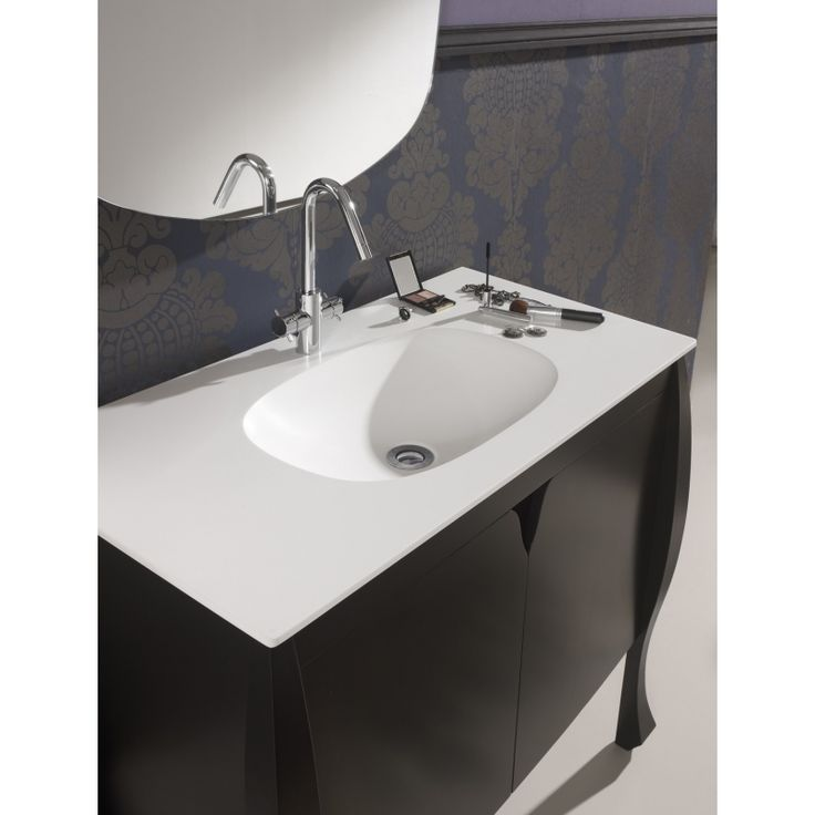 Craquez pour ce meuble de salle de bain accompagné de sa vasque, un rendu de très esthétique  Site planetebain.com  Ref:  611014