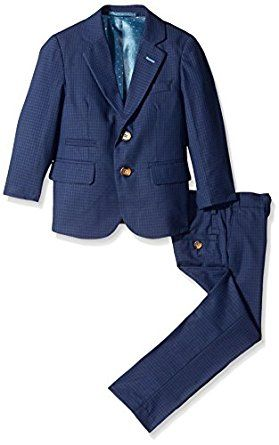 Isaac Mizrahi Little Boys' Gingham Check 2 ... by Isaac Mizrahi for $89.91 http://amzn.to/2fEjQjm