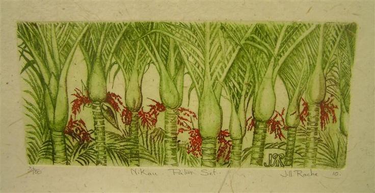 Image detail for -Nikau Palm Set, Jill Roche | KAPA, NZ online shopping. Design shop