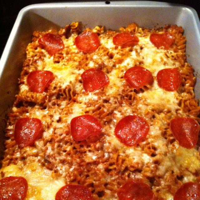 Pizza pasta casserole 4 Weight Watchers points plus per serving…