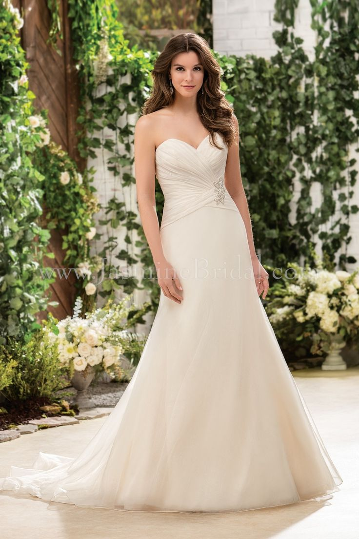 Jasmine Bridal Collection Style F181051 in Gold