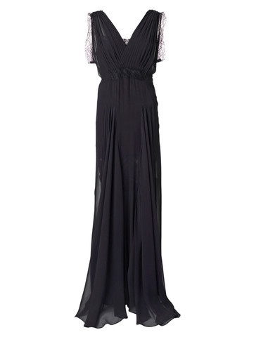 Eilalia Silk Maxi Dress by Malene Birger