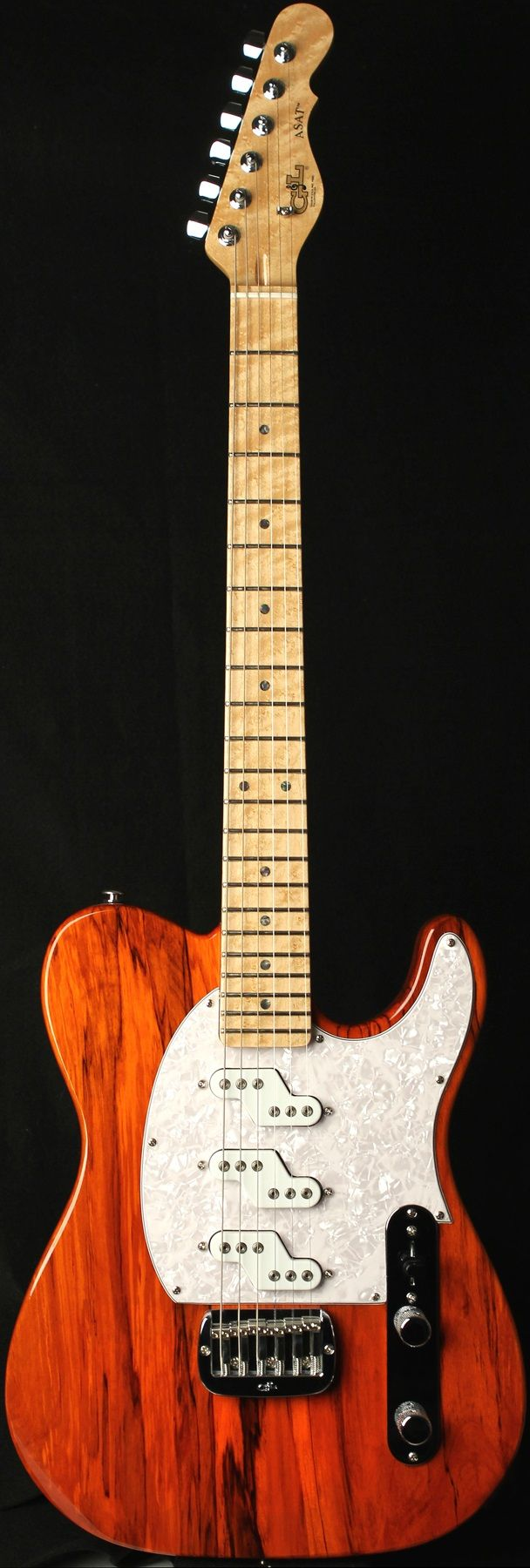 G&L Guitars ASAT® Z-3-these guitars are the Dos Equis guy of single coil guitars.