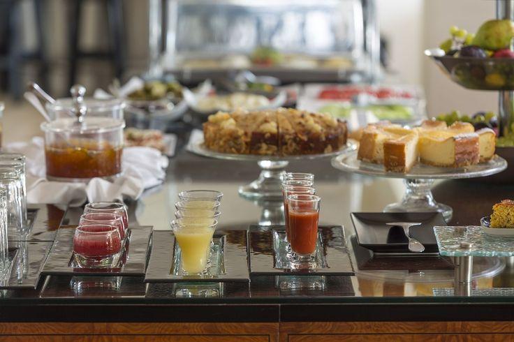 Breakfast buffet is served at Argo Restaurant!