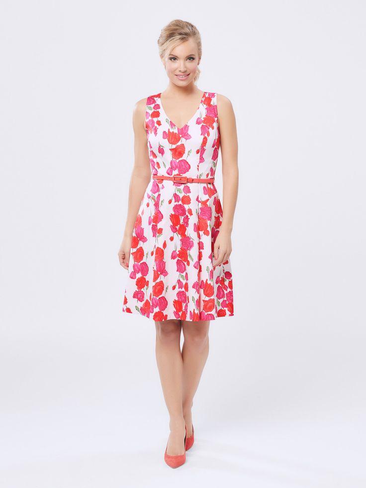 Floral Confetti Dress