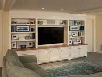 Fantastic Family Entertainment Center With Open Shelving And A Solid Wood Top Other Room