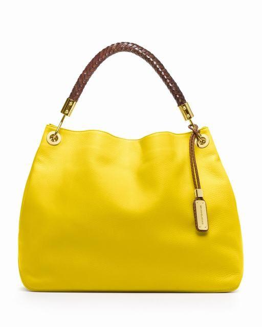 Michael Kors Große Skorpios Tote Gelb Pebbled deutschland #Handbags#jewellery|#jewellerydesign}