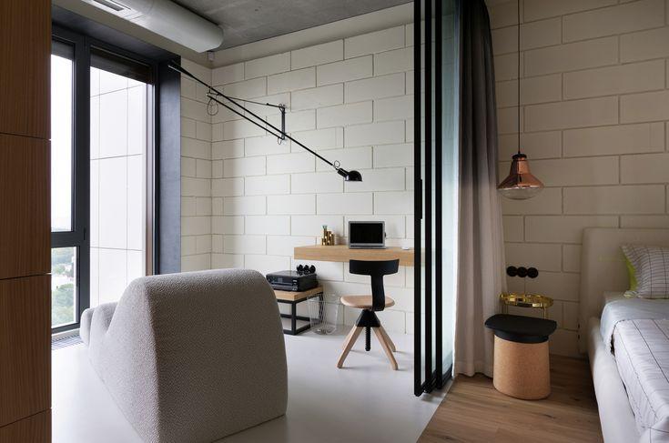 Smart Penthouse Bachelor Pad In Kiev   iDesignArch   Interior Design, Architecture & Interior Decorating eMagazine