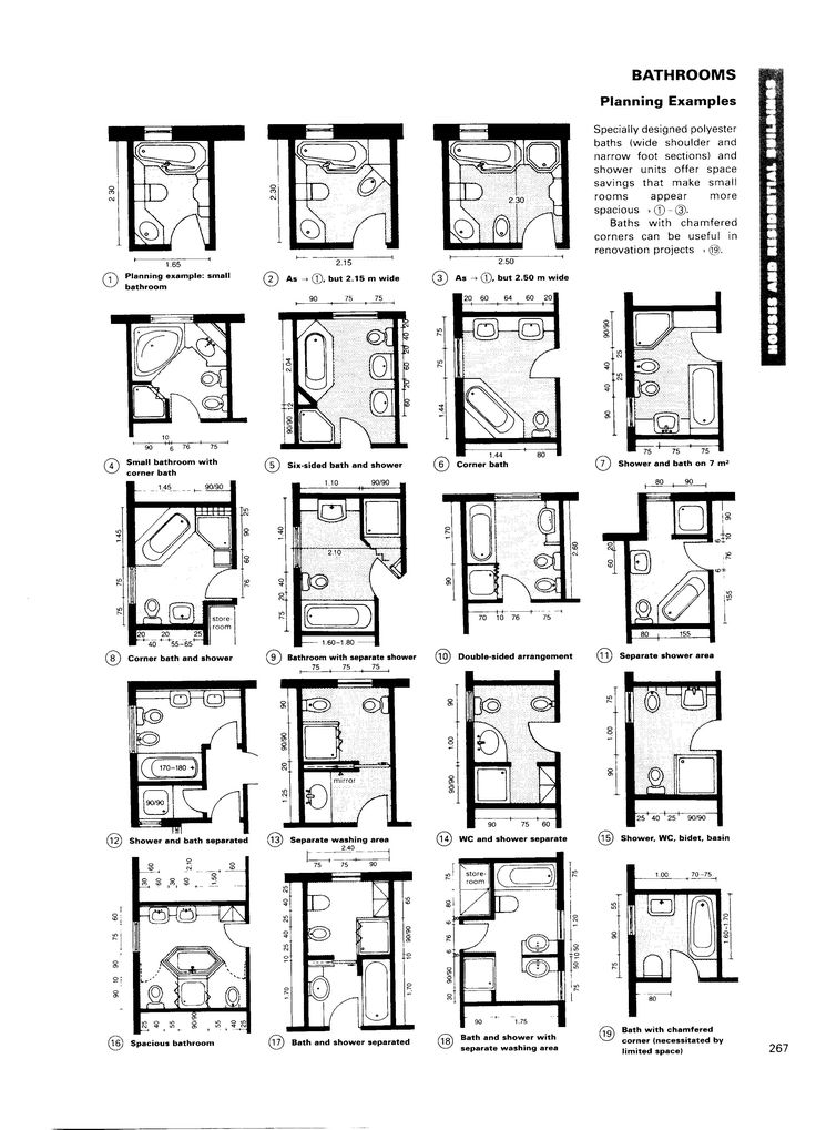 Neufert architects data ed 3 planungsgrundlagen for Badideen grundrisse