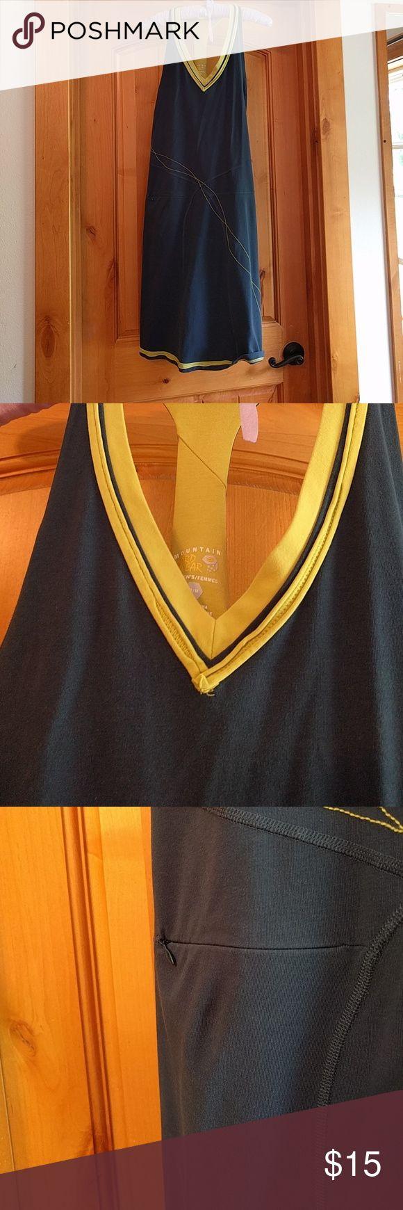 Mountain Hardware sport dress, reposhed! Mountain Hardware sport dress, secret zipper pocket (see photo) Mountain Hard Wear Dresses