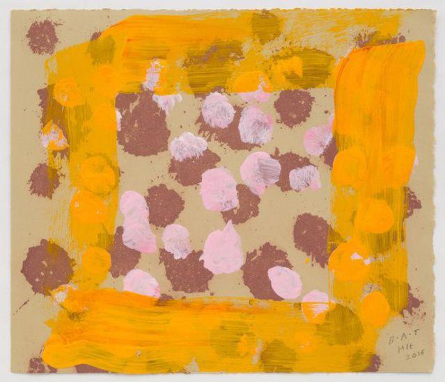 Howard Hodgkin | Raspberry Crumble (2015-2016) | Available for Sale | Artsy
