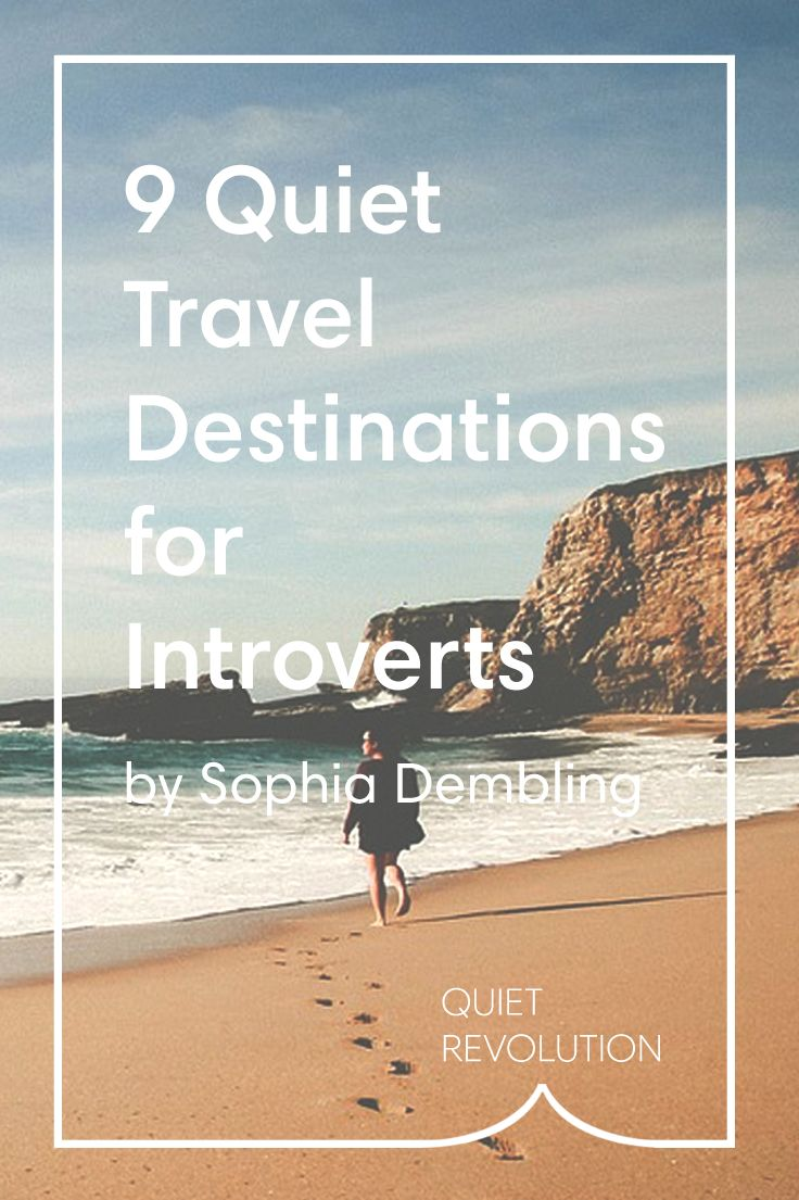 From Paris to Oregon and the Galapagos Islands, @sophiadembling shares 9 vacation spots perfect for introverts → http://www.quietrev.com/these-travel-destinations-prove-that-quiet-doesnt-mean-boring/