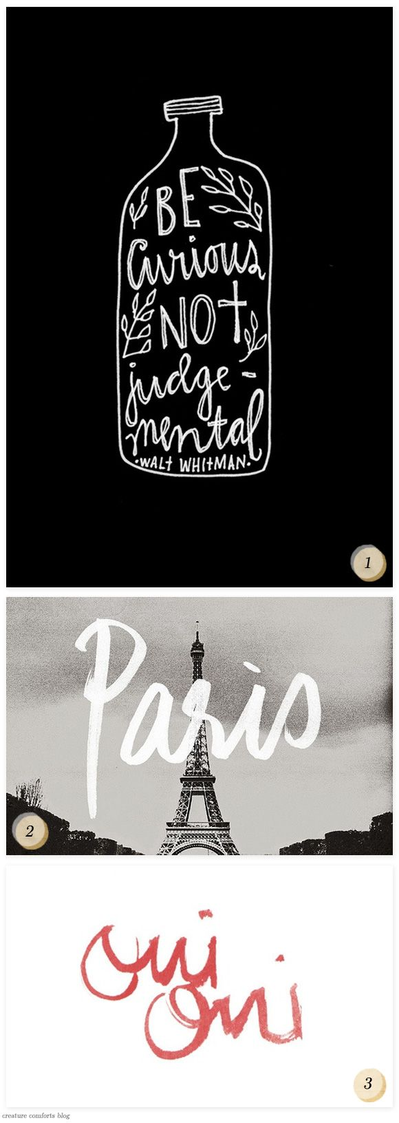 BonjourPinterest Hands Lettering1 Jpg, Things For Hands Letteing, Props Quotes, Hands Letters Diy, A Quotes, Hand Lettering