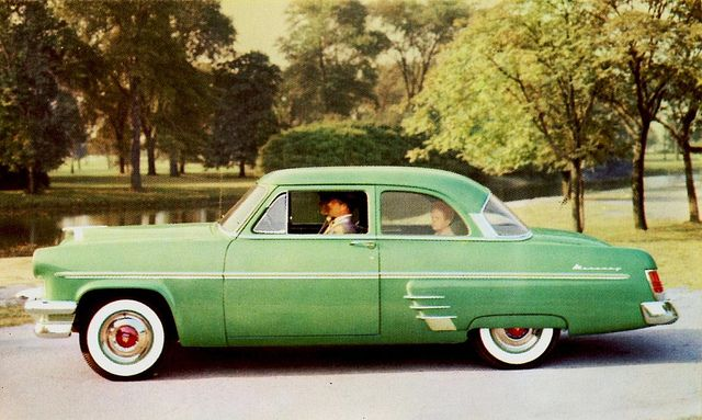 1954 Mercury Custom Two Door Sedan