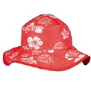 Red Hawaii Reversible sunhat, $29.99 - two sunhats in one!