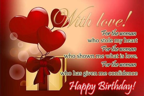 Love Quotes For Him Or Her Birthday Wishes For Wife Happy