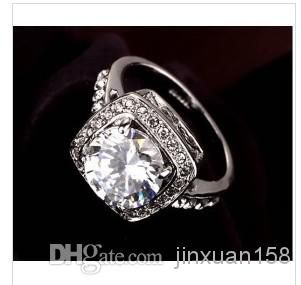 Online Cheap Italina Rigant Crystal Ring/Jewelry Rings For Women With Swarovski Crystal Stellux Cubic Zircon High Quality # By Jinxuan158 | Dhgate.Com