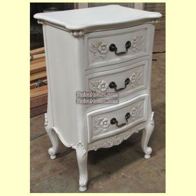 3 Drawers French Nightstand Refrence : RBS 023 Dimension : 45 x 35 x 74 cm Material : #WoodenMahogany Finishing : #Custom Buy this #Bedside for your #homeluxury, your #hotelproject, your #apartmentproject, your #officeproject or your #cafeproject with #wholesalefurniture price and 100% #exporterfurniture. This #3DrawersFrenchNightstand has a #highquality of #AntiqueFurniture #ReproductionFurniture #IndonesiaFurniture #FurnitureWarehouse #ExporterFurniture #GalleryFurniture
