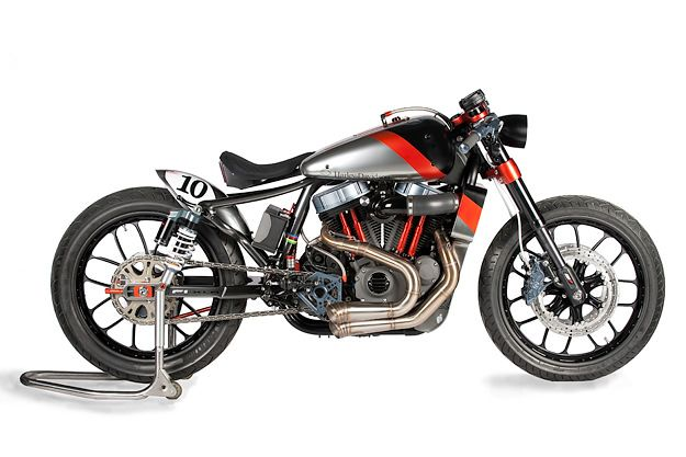 Influenced by 1920s boardtrack racers, the Shaw F1-XLR is the leanest, sleekest Harley Nightster custom we've ever seen.