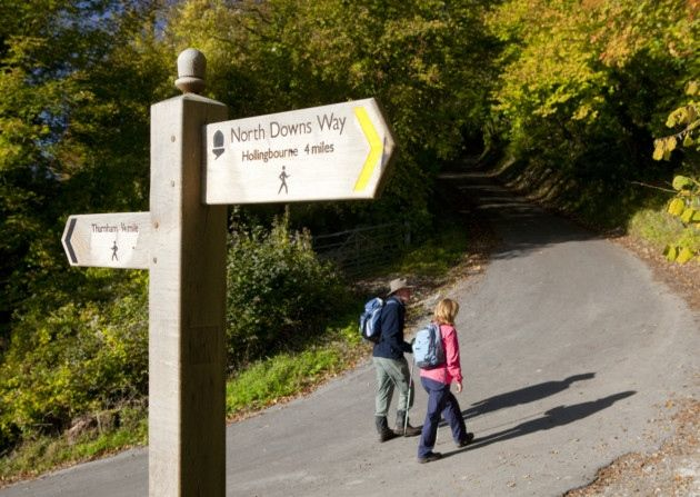 The village of Hollingbourne is nestled just below the beautiful North Kent Downs, an Area of Outstanding Natural Beauty. Just five miles from Maidstone this is the perfect way to escape busy daily life to enjoy a walk through some amazing countryside and experience several fantastic views