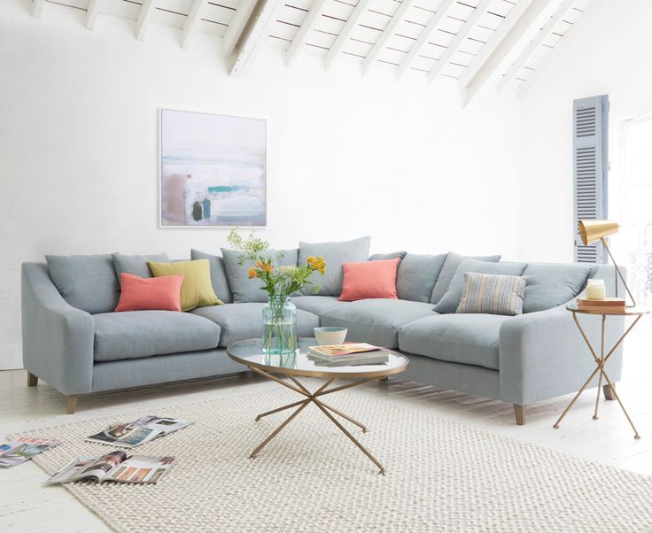 Living room l shaped sofa