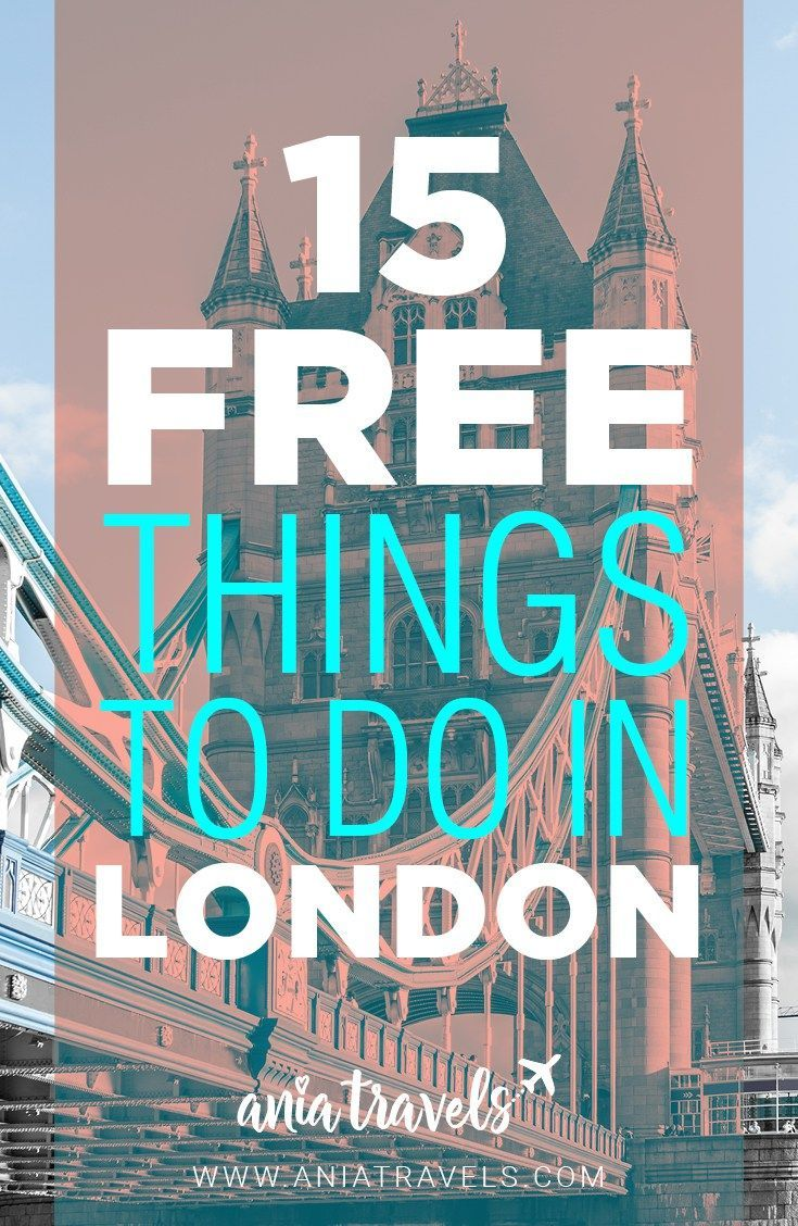 What is there not to love about London. It's a huge city with so many things to do. Here's my compilation of 15 FREE things to do in London this weekend. | things to do | London | England | Sightseeing
