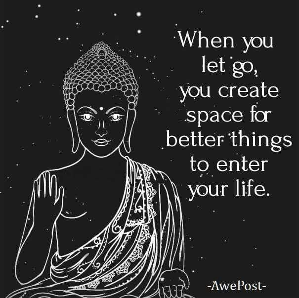 When you let go... #quotes
