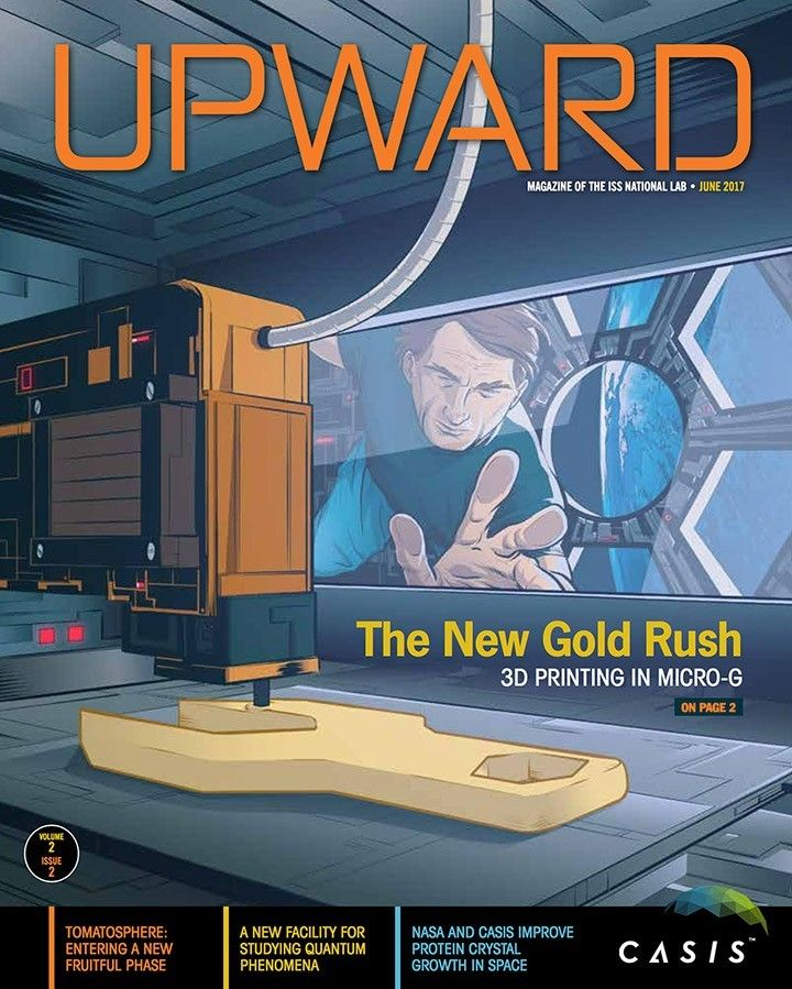Upward Volume 2, Issue 2 – the quarterly magazine of the ISS National Lab    Explore the newest issue of Upward to learn