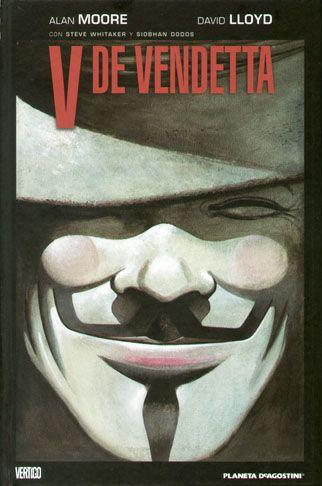 """V de Vendetta"" de Allan Moore y David Lloyd. Ficha elaborada por Cristina Paniagua."