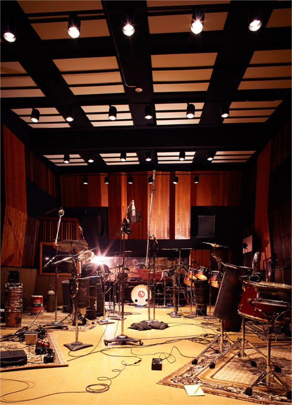 Studio Two Live Room · Recording Studio DesignMusic StudiosHome ...