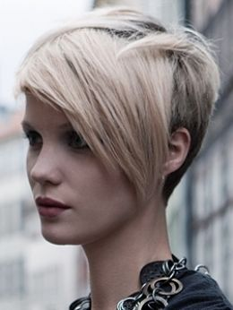 I have such a HARD time finding hairdressers that can do a decent job with short cuts.