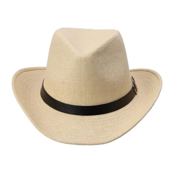 6a7bbd48e28c4 Fashion 6 Colors Summer Men Straw Hat in 2019 | Popular Summer Hats ...