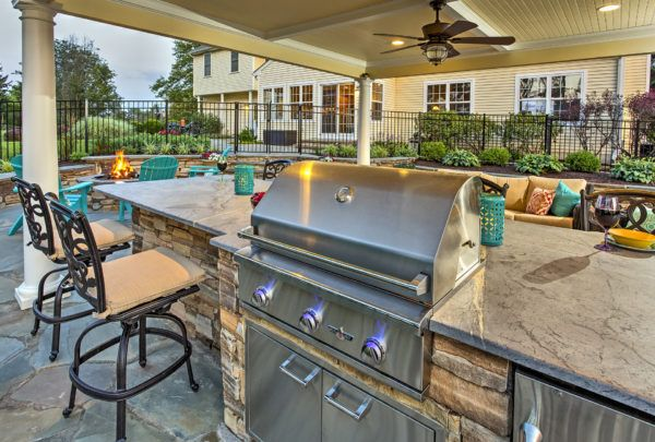 Custom outdoor living space designers Delaware | Outdoor ... on Disabatino Outdoor Living id=60083
