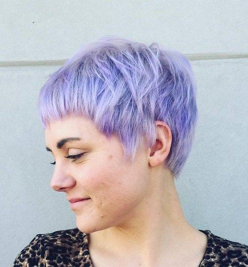 Messy Pixie Haircut