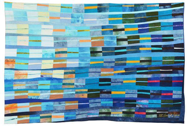 Kit Vincent of Elizabethtown, Ontario, Canada | Weekly Artist Fibre Interviews | Fibre Art | International | Canadian | World of Threads Festival | Contemporary Fiber Art Craft Textiles | Oakville Ontario Canada ****