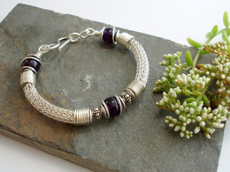 160 best Jewelry - Viking Knit images on Pinterest   Wire jewelry ...