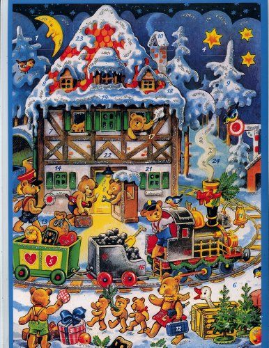 Set of Five German Advent Calendars For Children * You can get more details by clicking on the image.