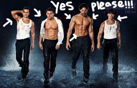 Magic Mike - I don't know what the movie will be about
