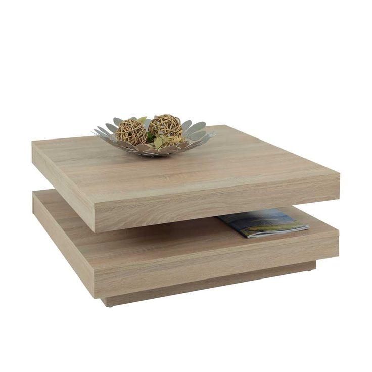 Wohnzimmertisch Mit Drehbarer Tischplatte Sonoma Eiche Jetzt Bestellen Unter
