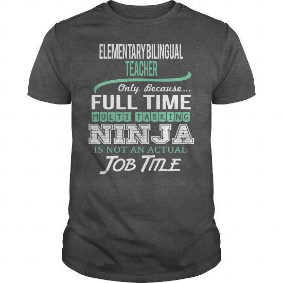 Awesome Tee For Elementary Bilingual Teacher #Tshirt #fashion. OBTAIN => https://www.sunfrog.com/LifeStyle/Awesome-Tee-For-Elementary-Bilingual-Teacher-144360801-Dark-Grey-Guys.html?60505