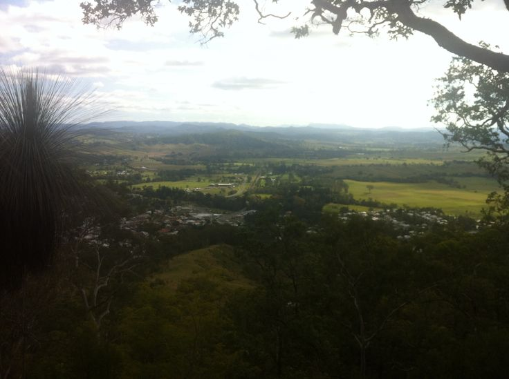 View from Fairy Mount #Kyogle