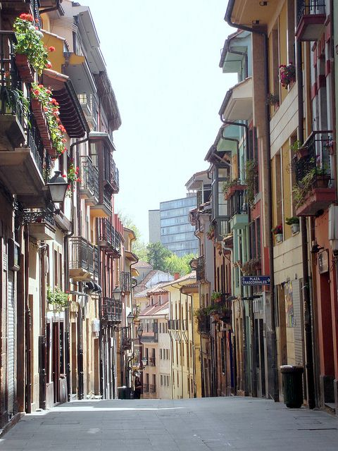 Oviedo, Spain cant wait to be wandering these streets all next semester :)