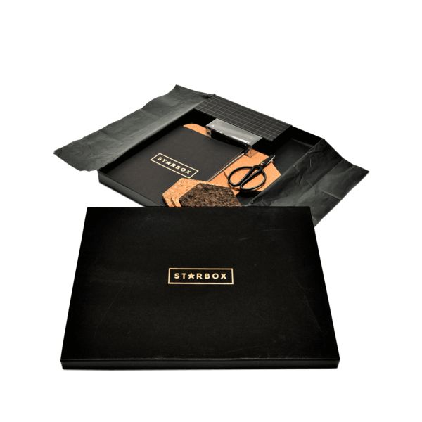 THE EXECUTIVE GIFT BOX:  The Executive Gift Box shines with style and class through its subtle combination of rich colours and slick textures. Any desk would be honored to meet it.