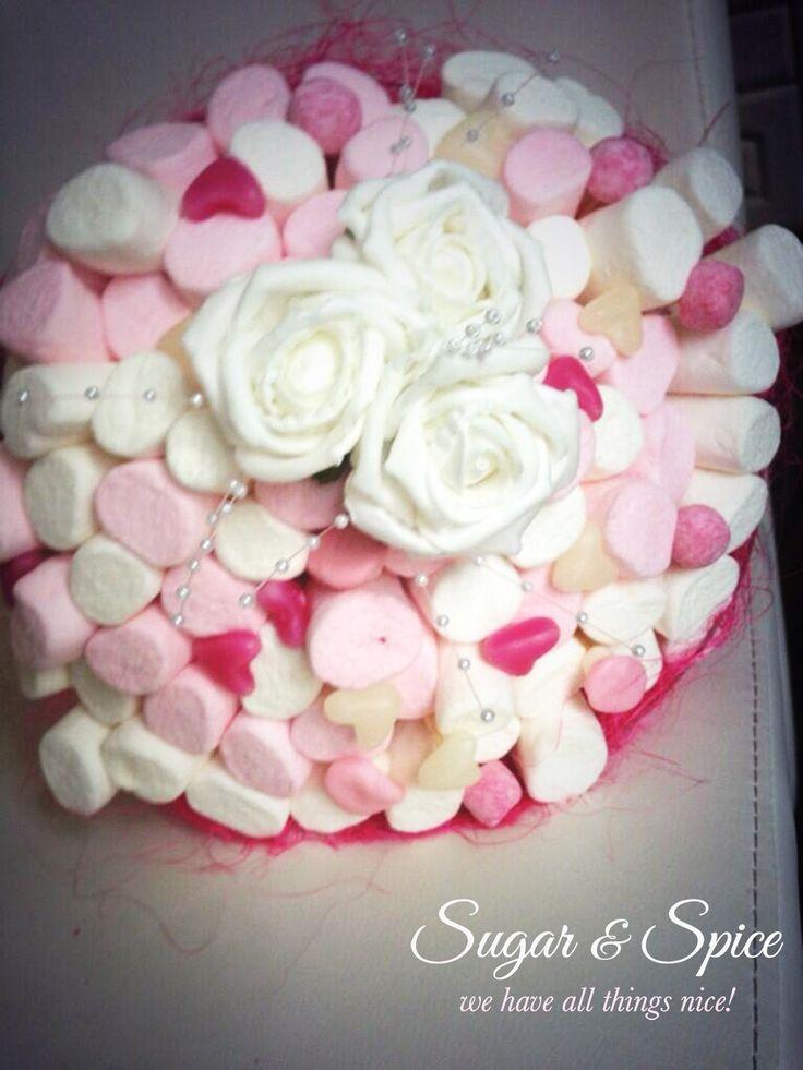 Magnificent Marshmallow Flower Bouquet Elaboration - Wedding Dresses ...