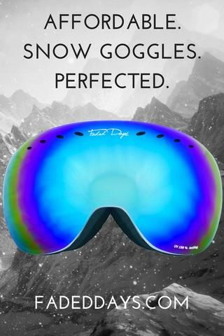 4d82321528 Affordable Snow Goggles perfected. Do you want to know how