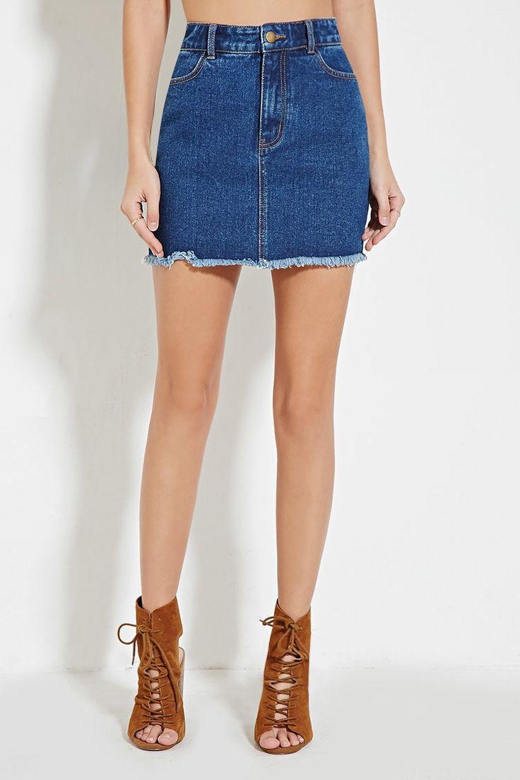 kahai-demin-skirt-small-cute